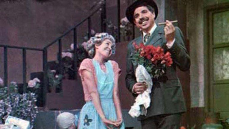 El Profesor Jirafales era un profundo enamorado de Doña Florinda