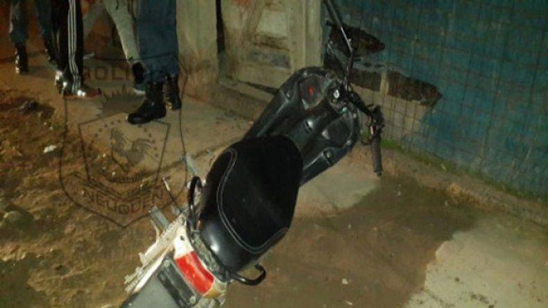 La moto robada fue secuestrada por efectivos de la Comisaría 5ª.