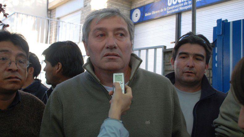Carcar es el secretario general de la UOCRA de Neuquén.