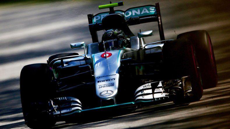 Rosberg logró la 25ª pole de su carrera.