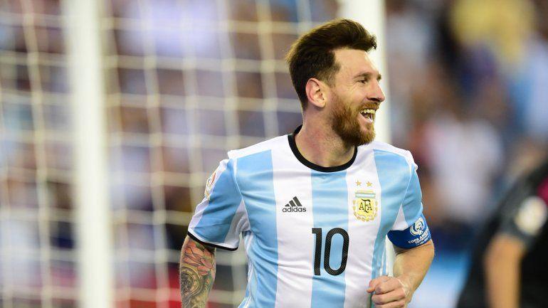 Messi no para de romper redes y récords. Ahora empató a Batistuta.