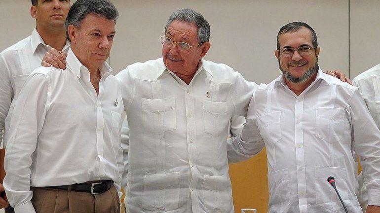 El Gobierno colombiano y las FARC acordaron un alto el fuego