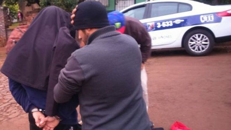 El docente fue capturado ayer por la policía misionera.