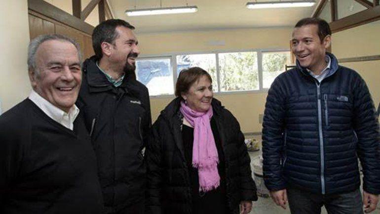 Gutiérrez recorrió la obra del hospital y la futura Escuela de Música