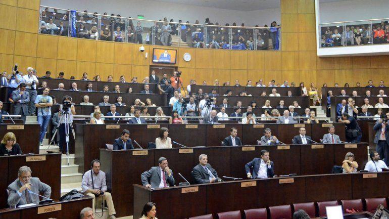En Diputados hay proyectos del oficialismo provincial que marchan a paso lento.
