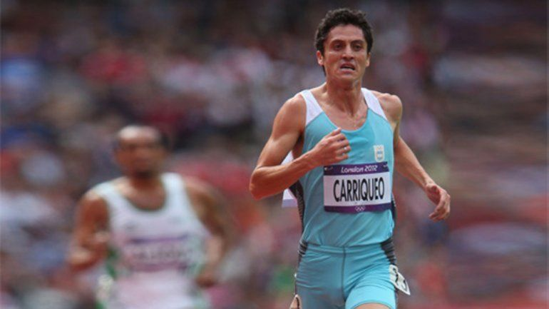 Javier Carriqueo. Atletismo