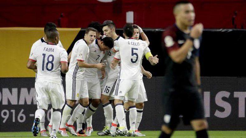 Colombia venció a Estados Unidos por la mínima y se subió al podio