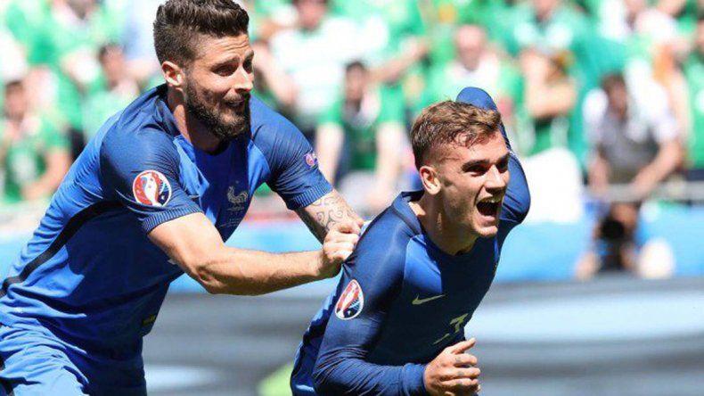 Francia y Alemania jugarán en Marsella por un pasaje a la final