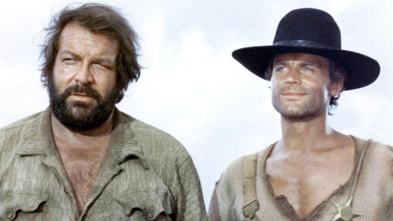 Bud Spencer hizo una dupla inolvidable en el cine con Terence Hill.