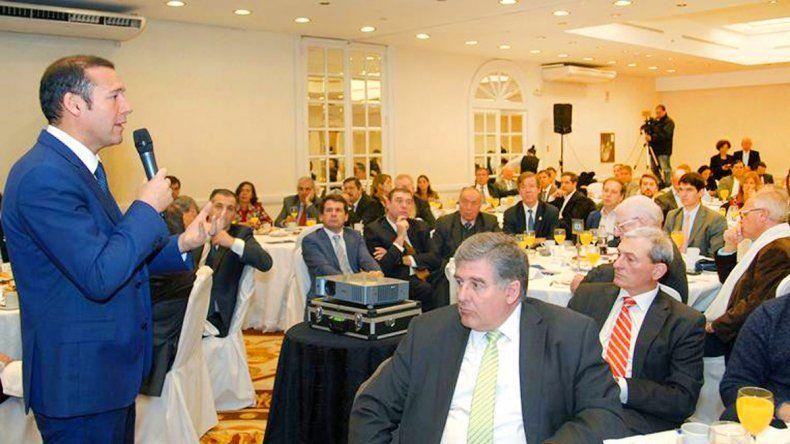 Omar Gutiérrez participó de un encuentro en Buenos Aires.