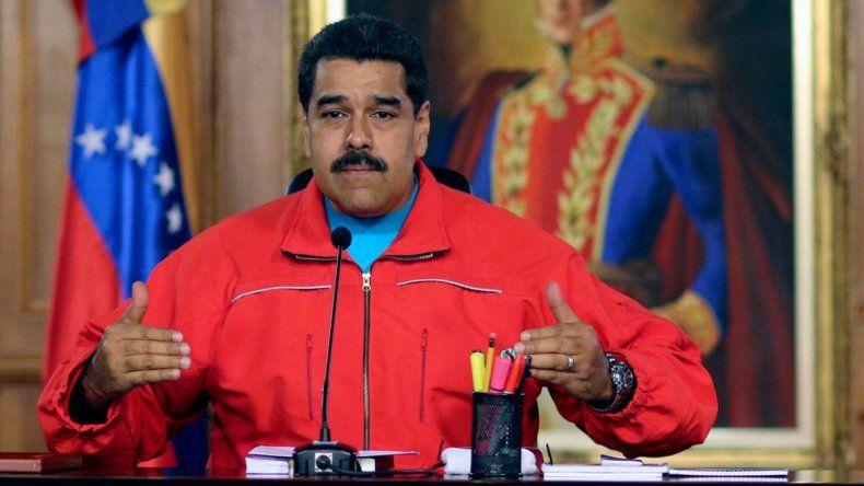 El presidente de Venezuela