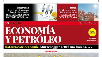 Suplemento Economia y Petroleo.