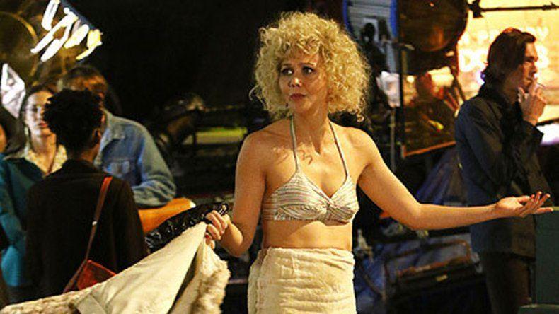 Maggie Gyllenhaal interpreta a una prostituta que se hace llamar Candy en Times Square.