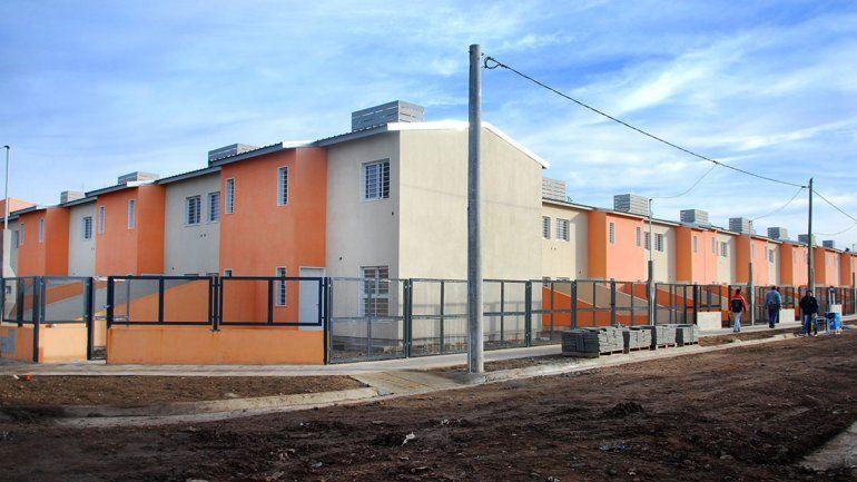 Las viviendas se suman a un lote que ya fue entregado.