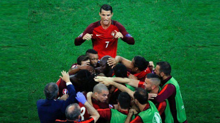 El Portugal de Cristiano le ganó a Polonia y está en semifinales