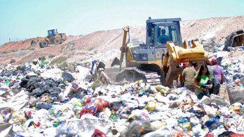 La ciudad saca unas 300 toneladas de basura todos los días.