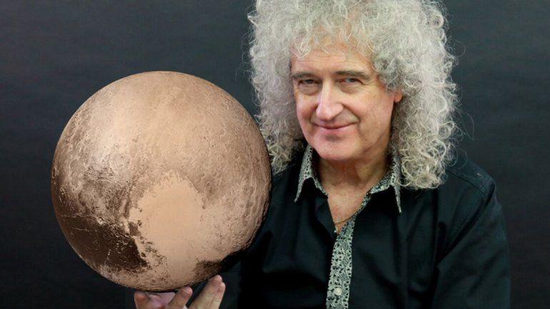 Brian May es el guitarrista de la mítica banda Queen. Talentoso y erudito.