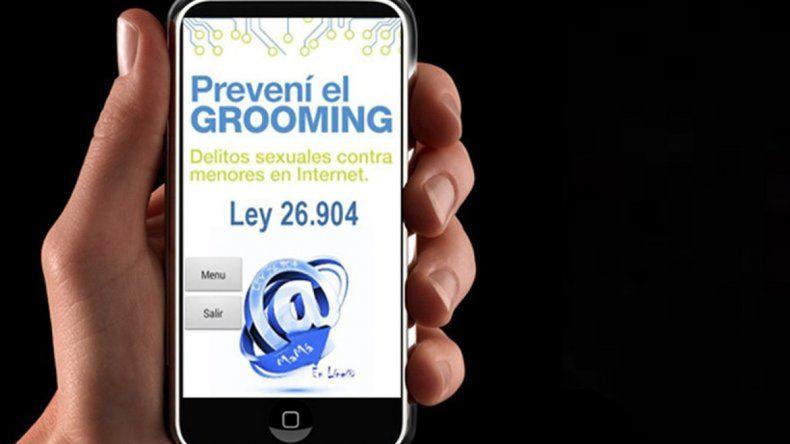 La aplicación llamada EMMA-grooming está disponible para Android.
