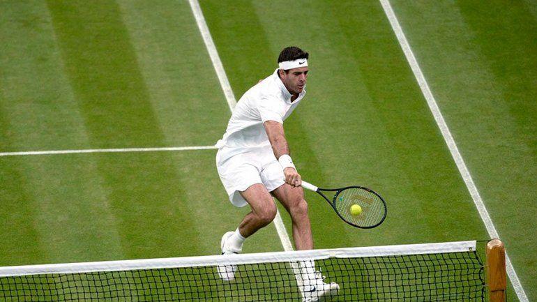 Del Potro fue eliminado de Wimbledon por el francés Pouille