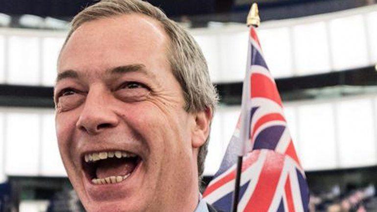 Nigel Farage no quiere dedicarse a hacer una carrera política.