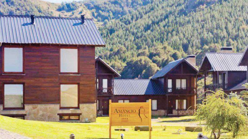 El Hotel Amancio está situado a 40 kilómetros de San Martín de los Andes.