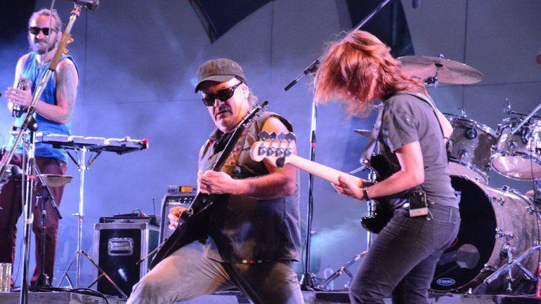 La banda del ex Sumo Germán Daffunchio tocó en Kimika en mayo.
