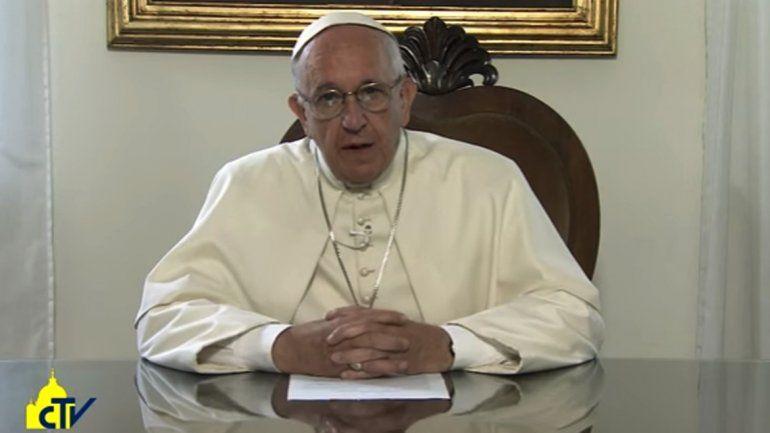 El Papa dijo que a la Madre Patria no se la puede vender