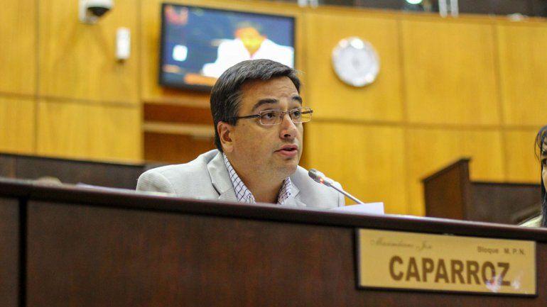 Maximilano Caparroz fue el miembro informante del proyecto.