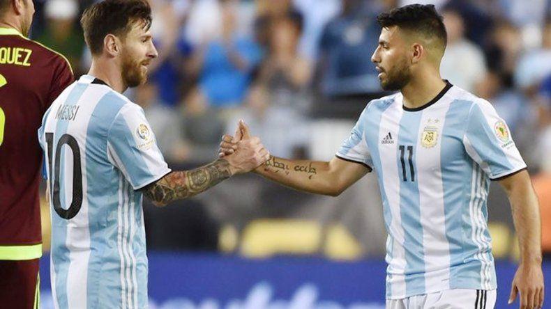 Lionel Messi y Sergio Agüero fueron los goleadores del ciclo con 13 tantos.