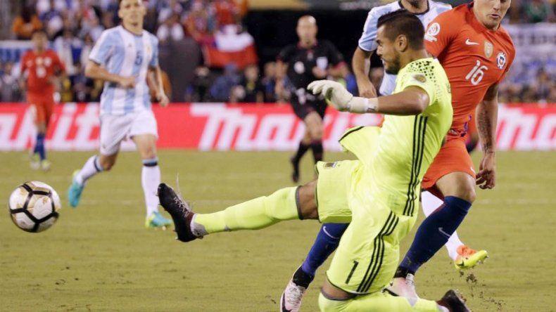 Sergio Romero fue el que más participaciones tuvo con 25 encuentros de un total de 29.