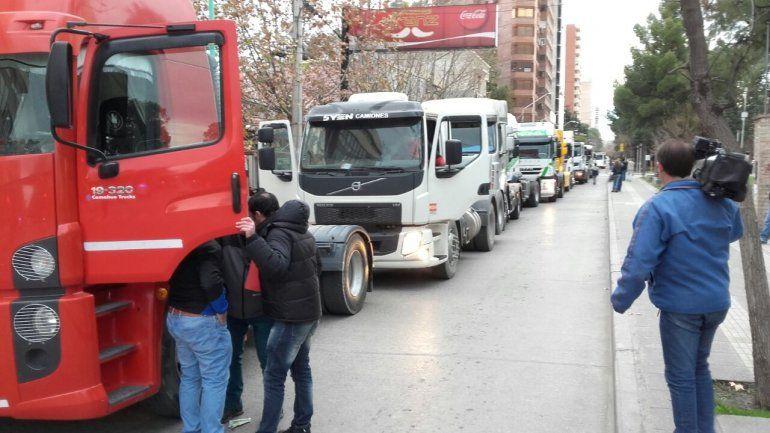 Dos protestas complicaron el tránsito en el centro