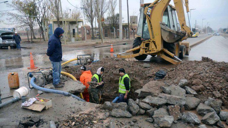 Las reparaciones urgentes serán realizadas en forma conjunta entre el Municipio y la Provincia.