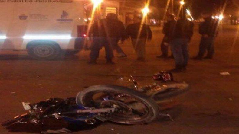 Murió un motociclista en un accidente de tránsito en Cutral Co.