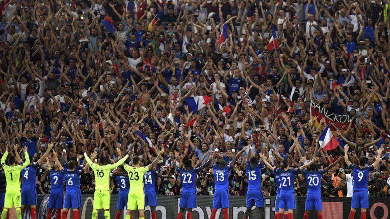 Francia gana la semifinal a Alemania con doblete de Griezmann