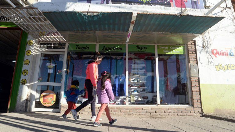 La tienda robada está en la zona comercial de calle Godoy