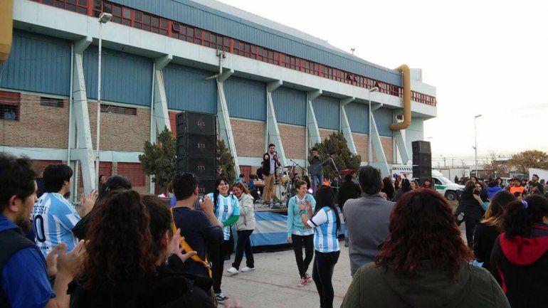Festejos por el 9 de Julio realizados en el 2015.