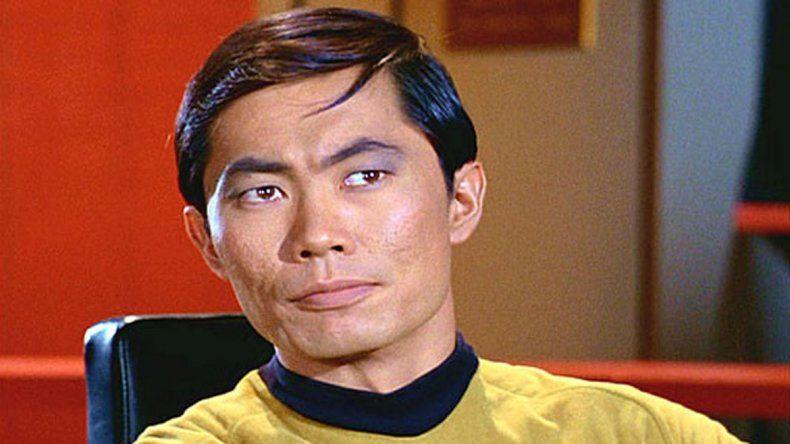 George Takei interpretó a Sulu en la Tv.