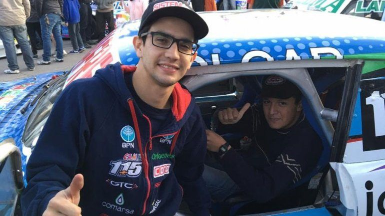 Echevarría estuvo en la exhibición del TC en Tucumán y ayer viajó a Termas.