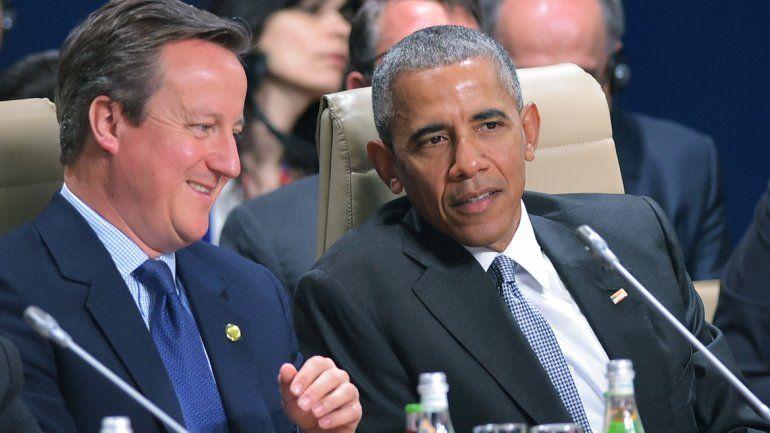 Obama hoy durante la cumbre de la OTAN.