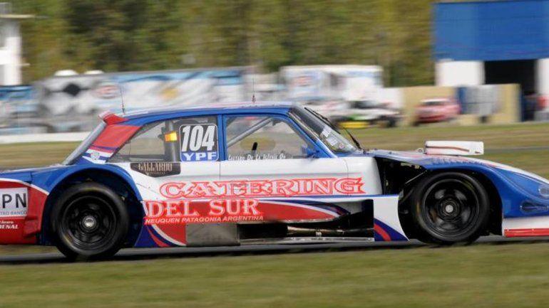El piloto neuquino consiguió un segundo lugar soñado.