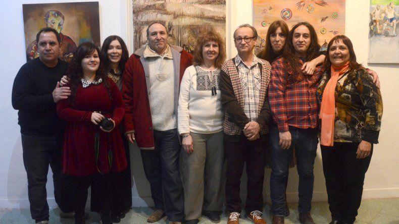 Integrantes de la comisión de ANAP