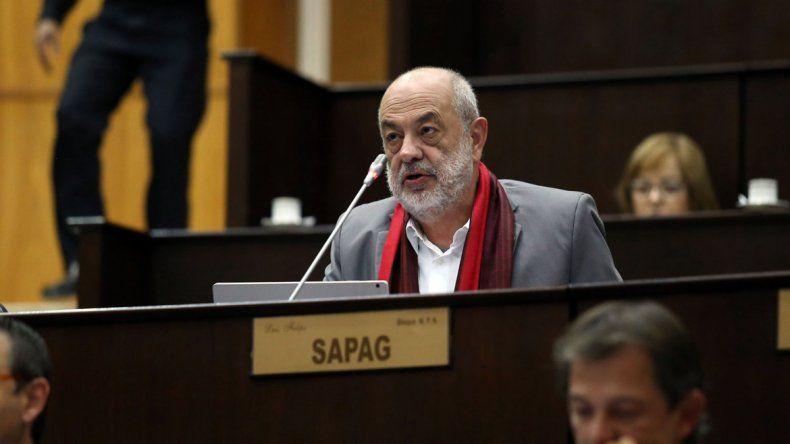Luis Sapag.