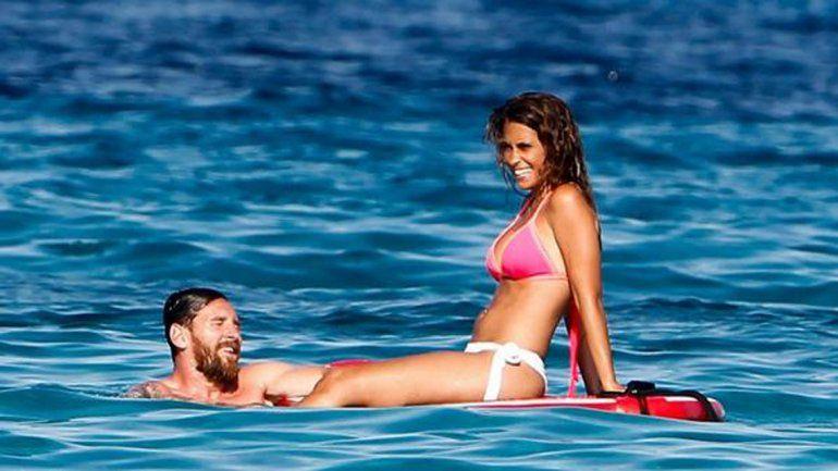 Antonella la rompe en Ibiza: ahora se filtraron más fotos y están todos como locos