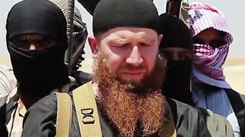 Omar el Checheno era el ministro de guerra del grupo terrorista.