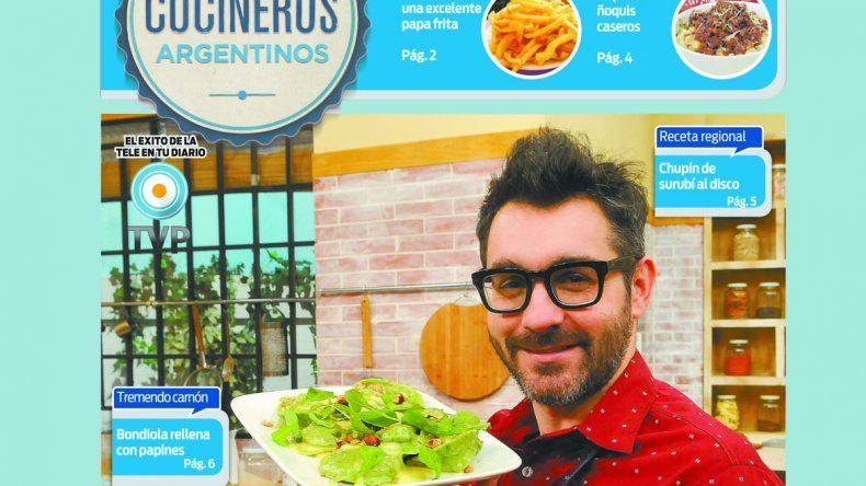 Cocineros Argentinos te saca el frío con recetas deliciosas