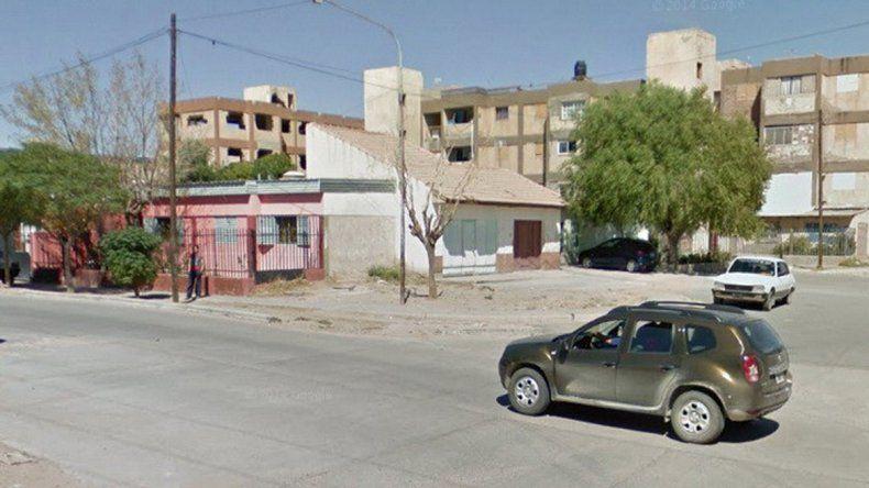 La Policía encontró los elementos robados en las 450 Viviendas.