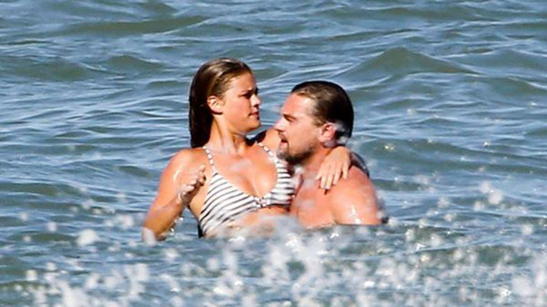 Leo DiCaprio y Nina Agdal