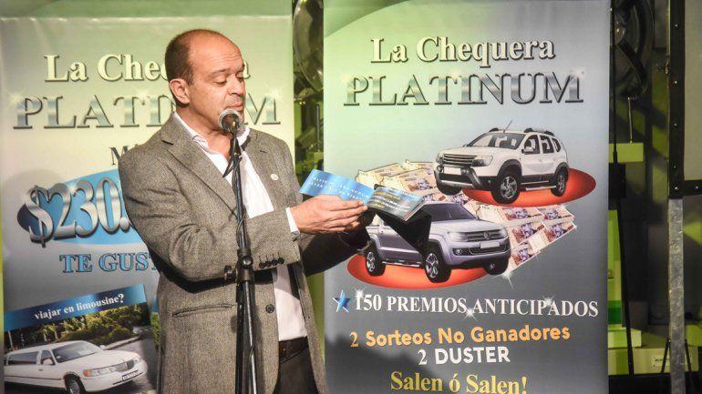 La Chequera Platinum ya repartió $185 mil entre once neuquinos