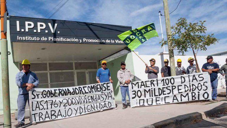 La marcha de UOCRA llegó a los puentes: corte parcial y complicaciones en el tránsito