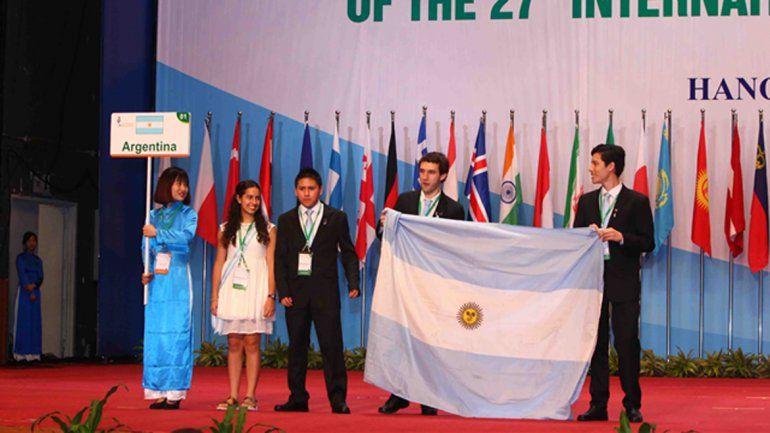 Dos neuquinos representan al país en las Olimpíadas de Biología en Vietnam